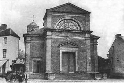 The church at the beginning of the 20th century. It was lucky enough not to be destroyed in 1918.